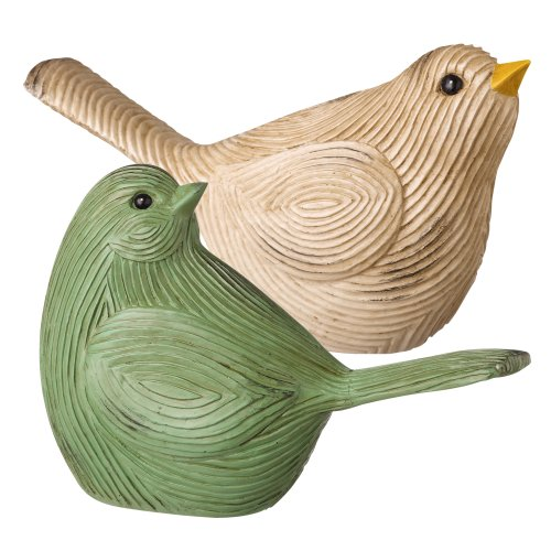 Grasslands Road Spring Meadow Artisan Bird Figurine Assortment, 5-Inch, Set Of 4