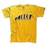 Standard Edition RUGBY EVOLUTION T-Shirt S-XXXL Siebdruck! (kein Billig-Flex/Flock-Transfer)