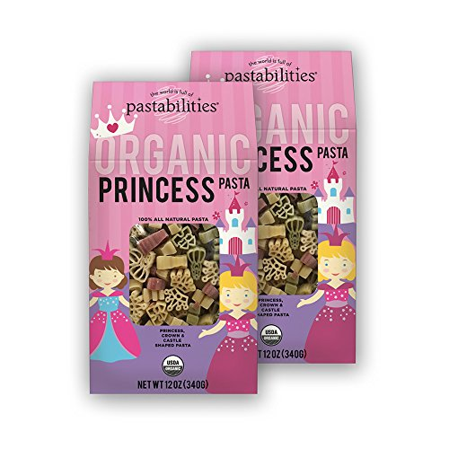 Pastabilities Organic Kids Princess Pasta, 12 oz. (Pack of 2) (Organic Pasta For Kids compare prices)