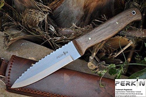 Handmade Bushcraft Knife - Hunting Knife 01 Carbon Steel - Amazing Value