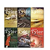 Anne Tyler Collection 6 Books Set, (Back when we were grown-Ups, the amateur marriage, earthly possessions, if morning ever comes and more title)