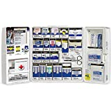 Large Smart Compliance General Workplace First Aid Cabinet with pain relief medication