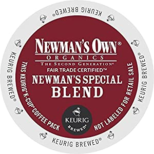 Newman's Own Special Blend Coffee, Medium Roast Coffee K-Cup Portion Pack for Keurig K-Cup Brewers by Newman's Own
