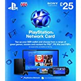 Sony PlayStation Network Card - �25 (PlayStation Vita/PS3)by Sony