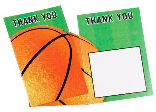 Basketball Fan - Thank-You Notes Party Accessory