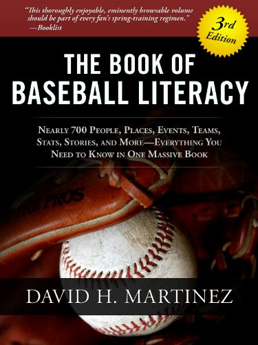 The Book Of Baseball Literacy by David Martinez ebook deal
