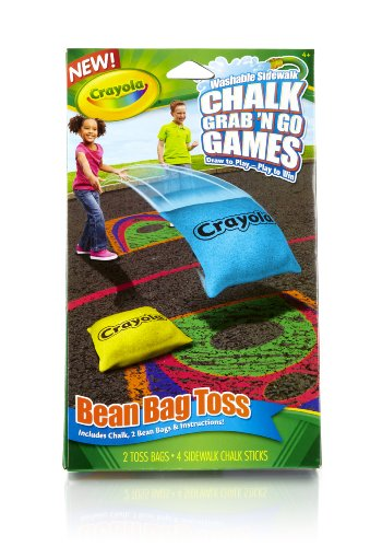 Crayola Bean Bag Toss Chalk Grab and Go Games