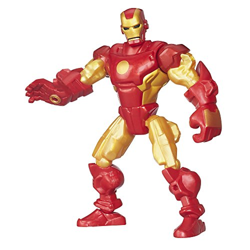 Avengers Super Hero Mashers Golden Armor Iron Man Action Figure (Super Hero Mashers Electro compare prices)