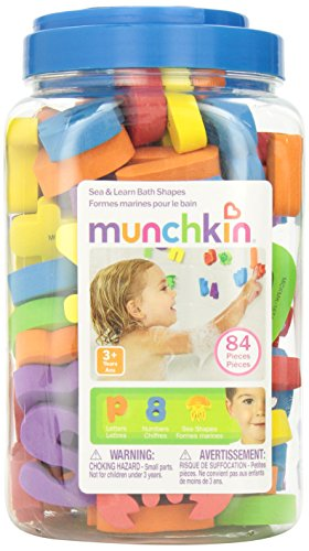 Munchkin Sea & Learn Bath Shapes