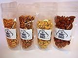 燻製 ナッツ 薄塩 100g×4セット (クルミ 、アーモンド 、カッシュナッツ 、ピーナッツ)スモークワークス