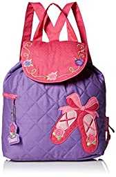 Stephen Joseph Quilted Backpack, Ballet Shoes