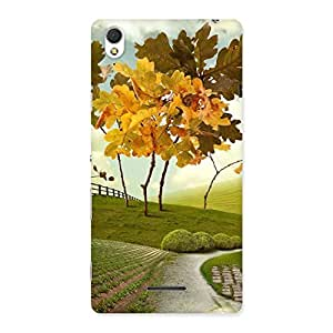 Cute Way Back Case Cover for Sony Xperia T3