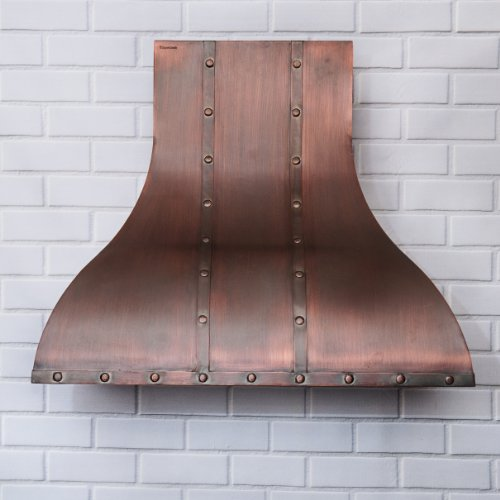 World CopperSmith Colonial Copper Range Hood 30