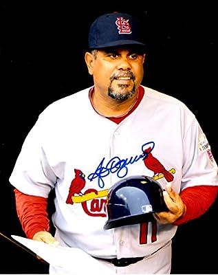 Autographed Jose Oquendo 8x10 St. Louis Cardinals Photo