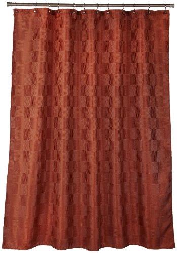 Cheap Curtains Popular Bath Plaza Swirl Copper Fabric
