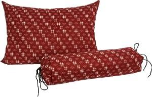 Amazon.com - J-Life Buckwheat Hull Pillow - Japanese Soba Gara Makura - Rectangular 13