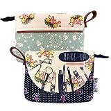 Disaster Designs Ditsy Cosmetic Make Up Bag