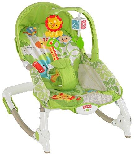 New Love Fisher-Price Newborn-To-Toddler Portable Rocker - Machine Washable & Dryer Safe front-412090