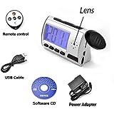 TechTonic Portable Alarm Clock Spy Camera DVR with Motion Detection