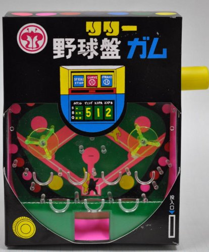 リリー 野球盤 ガム (1箱100個+当たり分42個入)+大和屋サービスで蒲焼さん太郎1枚付き