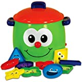 The Learning Journey Learn with Me Shape Sorter Fun Pot