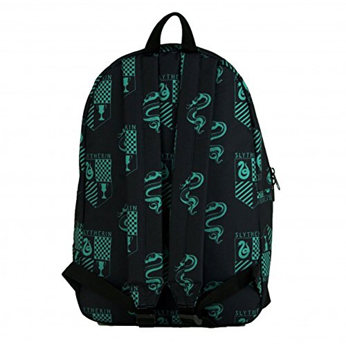 Harry Potter Slytherin Sublimated All Over Print Backpack