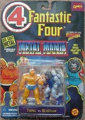 Thin vs Blastaar Fantastic Four Metal Mania - 1
