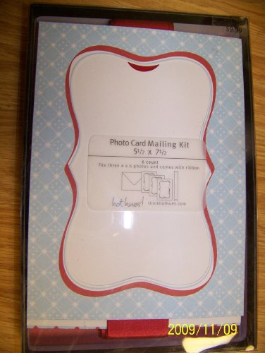 Holiday Photo and Hanger Mailable Kit, 6ct