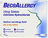Beconase BecoAllergy Tablets - 10 mg, Pack of 14 Tablets