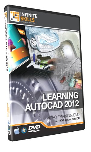 AutoCAD 2012 Training DVD - Tutorial Video - Over 13 hours of Training