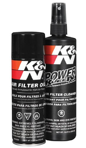 K&N Air Filter Recharger Kit 99-5000 - Car,Vans & Truck Filters