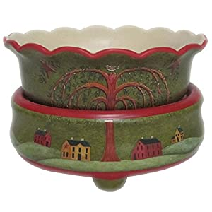 Willow Tree Art Candle Warmer 2 in 1
