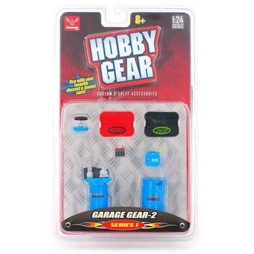 """Hobby Gear"" Garage Gear-2 Series 1 1:24 Scale - 1"