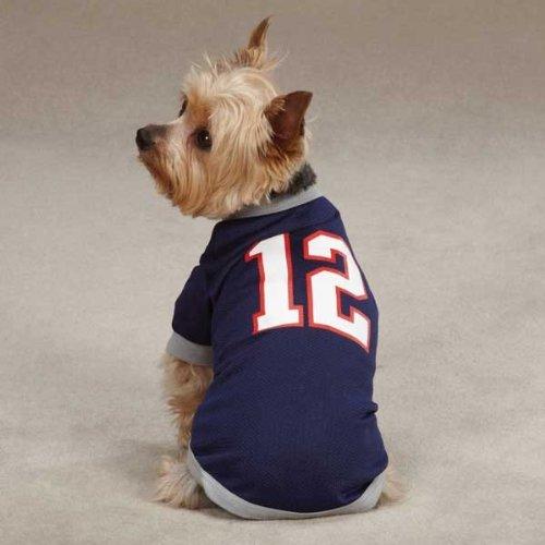 7125df64e4f Small/Medium #12 Tom Brady Dog Jersey New England Patriots NFL Pet Puppy  Mesh