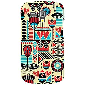 Design Worlds Samsung Galaxy S Duos 7562 Back Cover - Draw Designer Case and Covers