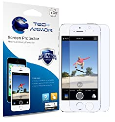 Tech Armor RetinaShield Blue Light Filter Screen Protector for iPhone 5/5c/5s - Great for Kids - Filter out Eye-Strain causing Blue Light - Lifetime Warranty [1-Pack]