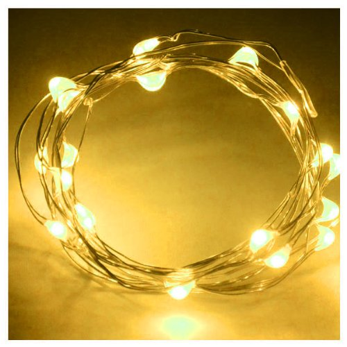Zono® Multi Color For Selection Battery Power 2M Long 20 Led Outdoor Decoration Christmas Copper Led String Light