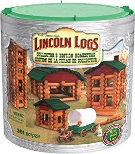 K'nex Lincoln-Logs Collector's Edition Homestead Building Set