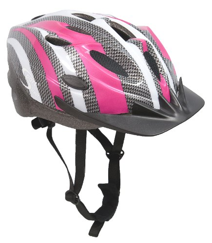 Sport Direct SH515 55-58cm Junior/ Ladies Helmet - Pink/ Silver