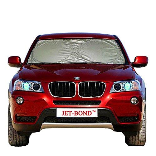 Windshield Sun Shade UV Ray Deflector for Car Truck SUV Minivan Foldable Front Sun Protector Jumbo (63