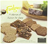 Fudges a Selection of Biscuits for Cheese 300 g (Pack of 4)