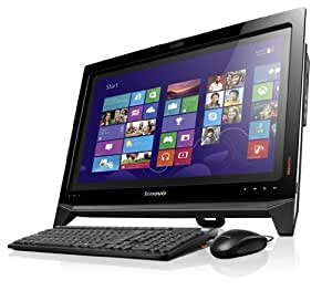 Lenovo B350 21.5-inch Touchscreen All-in-One Desktop PC - Black (Intel Core i3 4130 3.4GHz Processor, 4GB RAM, 1TB HDD, 8GB SSD, DVDRW, Integrated Graphics, Windows 8)