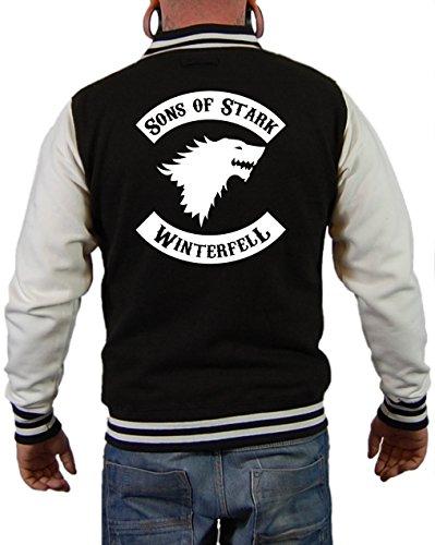 artshirt-factory-chaqueta-universidad-para-hombre-negro-blanco-xl