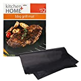 BBQ Grill Mats -100% Non-stick, easy to clean and reusable-...