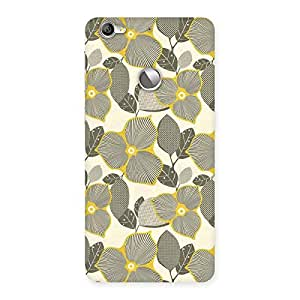 Delighted Unknown Creature Print Back Case Cover for LeTV Le 1s