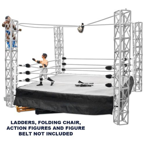 Figures Toy Company Combo Deal: Wrestling Ring for Action Figures & Highwire War Playset at Sears.com