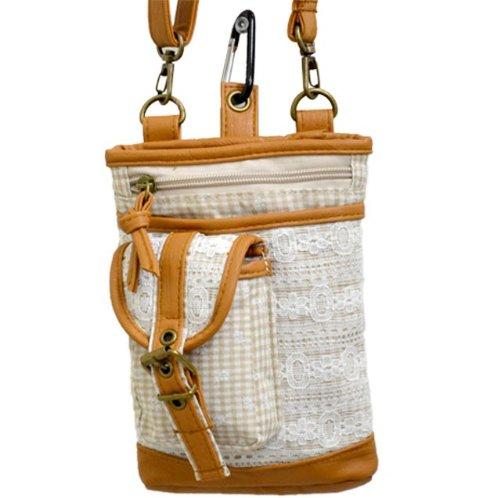 ロリス チェック&レースシザーバッグ