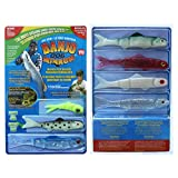 Wild.life® 110 Piece Fishing System Soft Plastic Fishing Lures -Minnow 006 As Seen on Tv Fishing Freshwater Saltwater