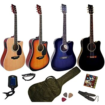 k guitare electro acoustique pas cher