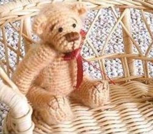 Brown Sugar Thread Crochet Bear Pattern